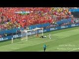 ЧМ 2014  матч № 36  группа В  3-й тур  23.06.2014  Нидерланды 2 - 0 Чили