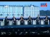 Президент Рф Владимир Путин на Петербургском Международном Экономическом Форуме. Россия 24 (23.05.2014) HD 720